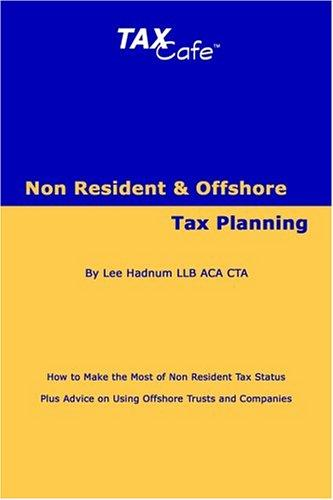 Download Non Resident and Offshore Tax Planning