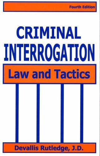 Download Criminal Interrogation