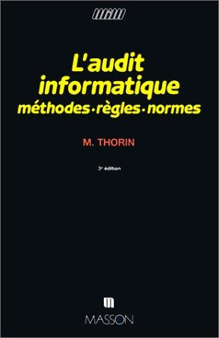 L'audit informatique