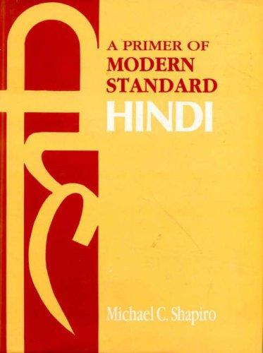 Download The Primer of Modern Standard Hindi
