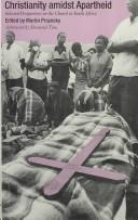 Download Christianity Amidst Apartheid