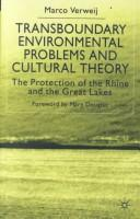 Download Transboundary Environmental Problems and Cultural Theory