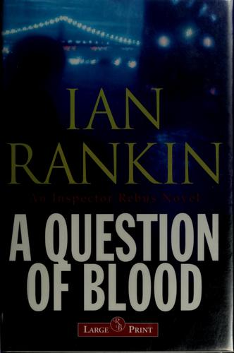 Download A question of blood