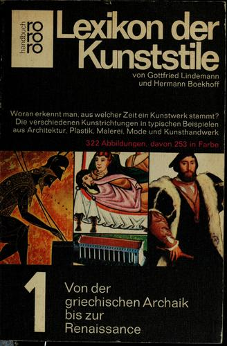 Download Lexikon der Kunststile.
