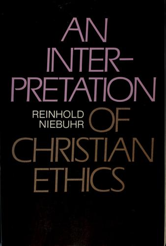 Download An Interpretation of Christian Ethics