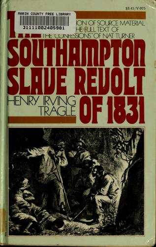 Download The Southampton slave revolt of 1831