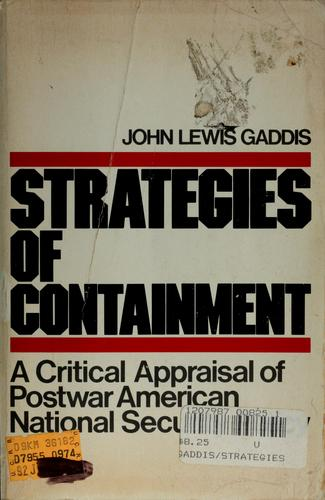 Download Strategies of containment