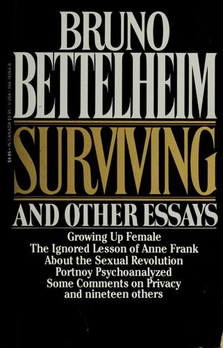Download Surviving and other essays