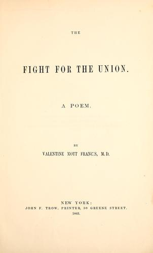 The fight for the Union.
