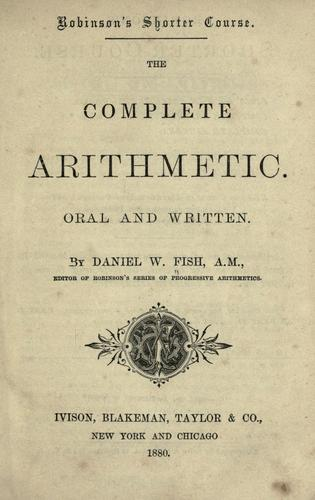 The complete arithmetic