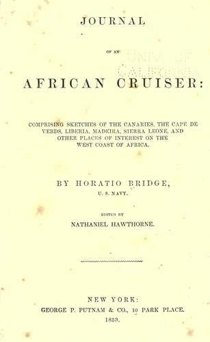Download Journal of an African cruiser