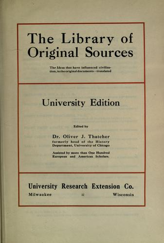 Download The library of original sources