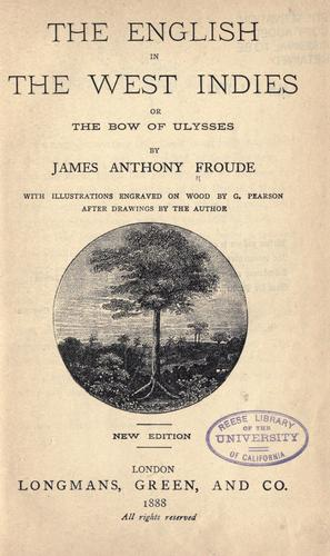 Download The English in the West Indies