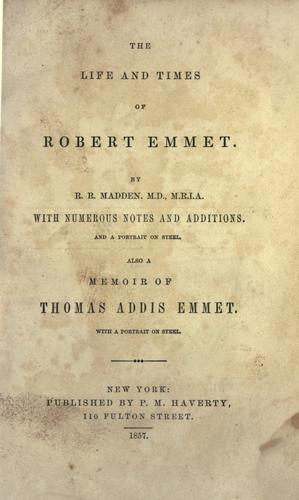 Download The life and times of Robert Emmet