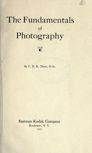 The fundamentals of photography