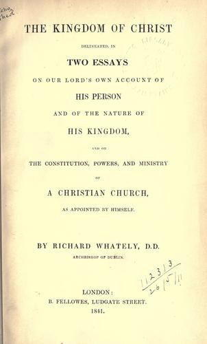 Download The Kingdom of Christ