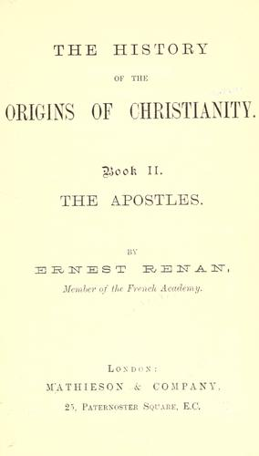 Download The history of the origins of Christianity.