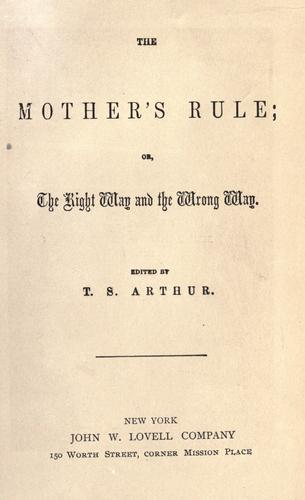The mother's rule