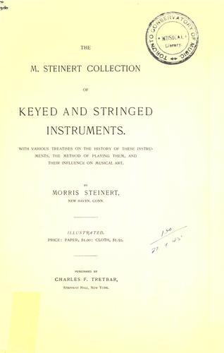 The M. Steinert collection of keyed and stringed instruments