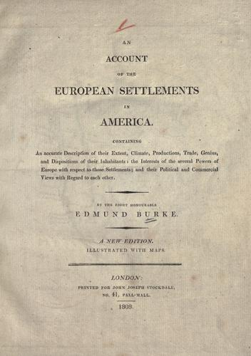 Download An account of the European settlements in America.