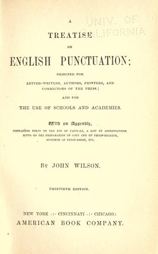 Download Treatise on English punctuation