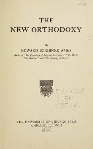 Download The new orthodoxy