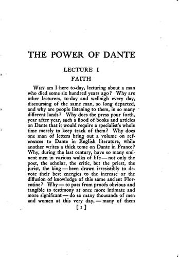 Download The power of Dante