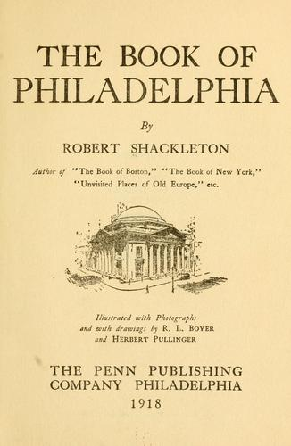 Download The book of Philadelphia