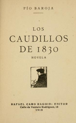 Download Los caudillos de 1830