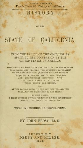 History of the state of California.