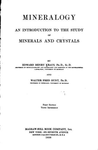 Download Mineralogy
