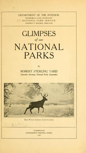 Download Glimpses of our national parks