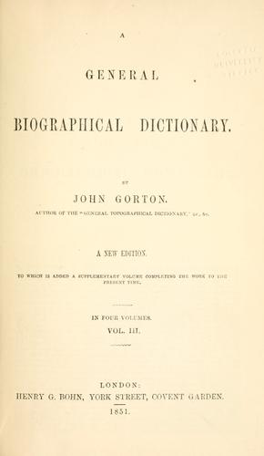 Download A general biographical dictionary.