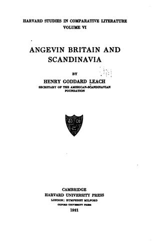 Download …Angevin Britain and Scandinavia