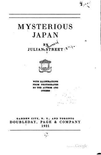 Download Mysterious Japan