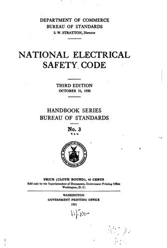 Download National electrical safety code.