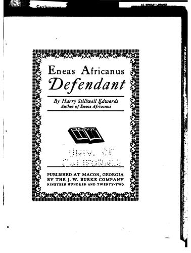 Download Eneas Africanus defendant