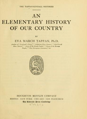Download An elementary history of our country