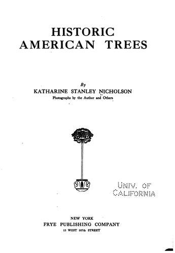 Download Historic American trees