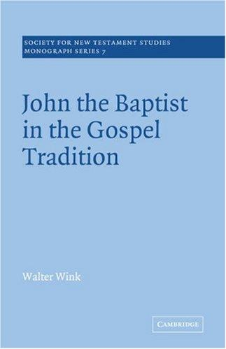 Download John the Baptist in the Gospel Tradition