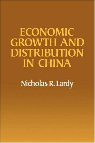 Download Economic growth and distribution in China