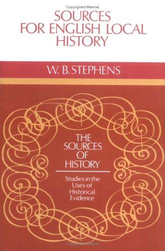Download Sources for English local history