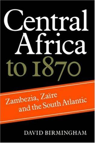 Central Africa to 1870