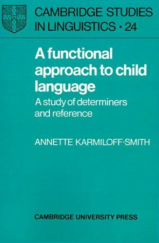 Download A Functional Approach to Child Language