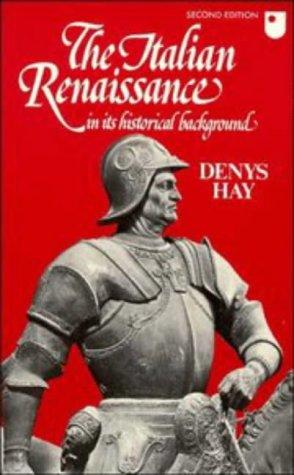Download The Italian Renaissance in its historical background