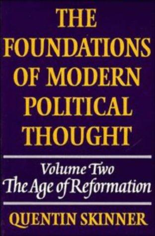 Download The foundations of modern political thought