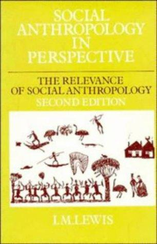 Social anthropology in perspective