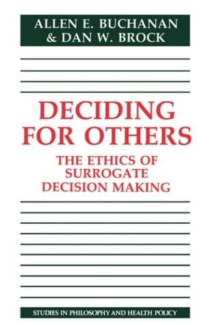 Download Deciding for others