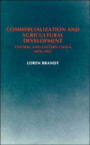 Commercialization and agricultural development
