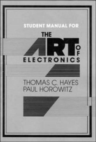 Download Student Manual for the Art of Electronics